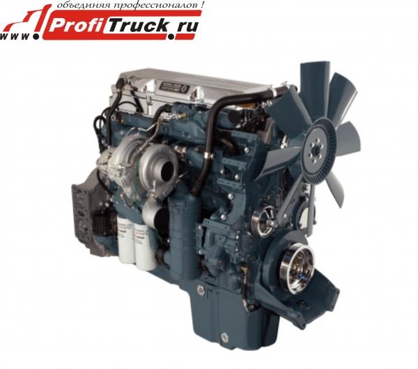 Двигатель 4-тактный, имеет 6
